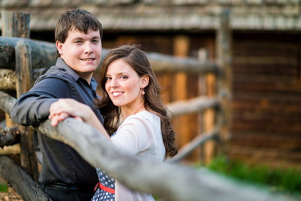 Amy & Jeff | Clear Creek History Park