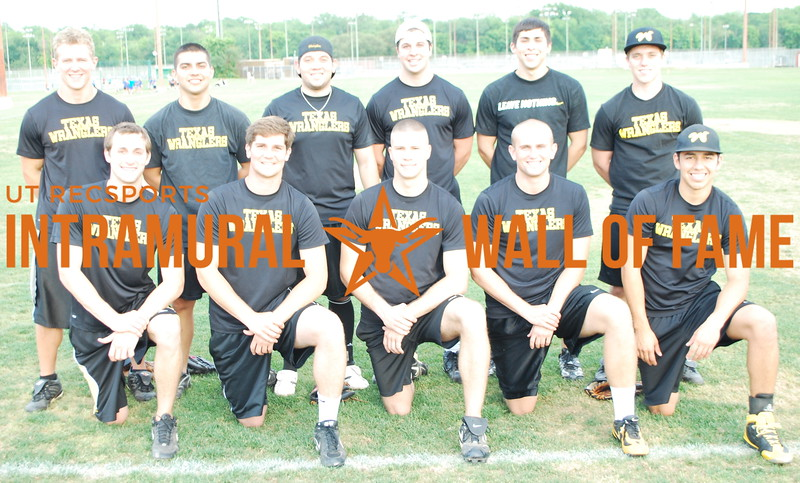 SOFTBALL Orange A Champion  Texas Wranglers Gold  Front Row: Neal Dawson, Samuel Fenwick, Reilly Milton, Michael Morales Back Row: Ryan Schwab, David Lopez, Martin Castaneda, William Burck, Anthony Galvan, Brent Benoit Not Pictured: Zakary Takacs
