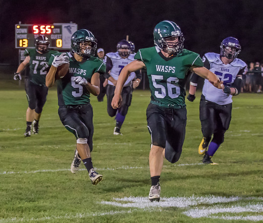 WUHS Football vs Oxbow 092018