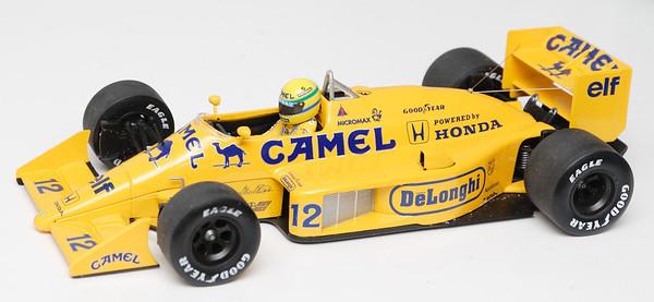 1987 #12 Ayrton Senna Lotus Renault 99T RACE LIVERY SOLD 8/17