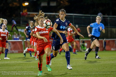 Washington Spirit v North Carolina Courage (30 August 2017)