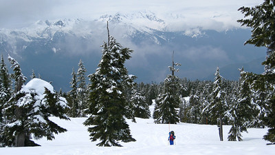 Elfin Hut and Whistler Blackcomb