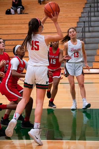TWHS Girls Basketball vs Cleveland HS 12/4