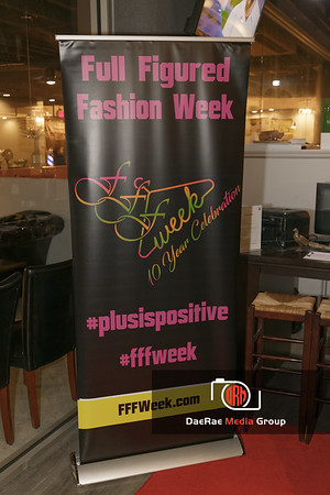 Full Figured Fashion Week's pre-casting Meet and Greet.