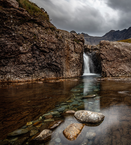 Fairy pools waterfall