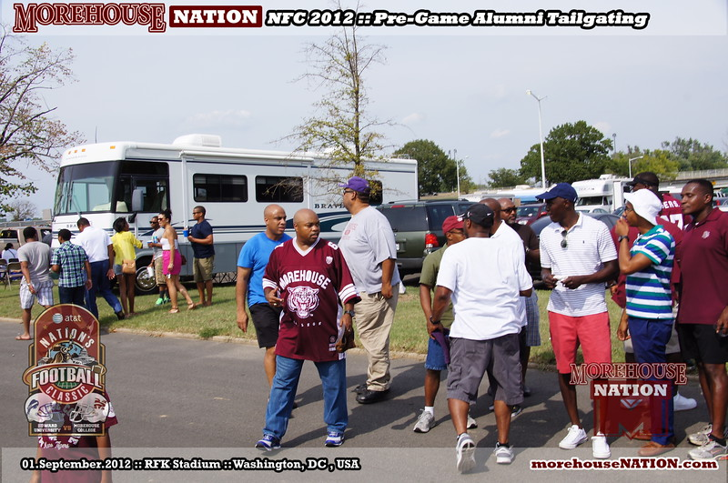 NFC 2012 ::: Nation's Football Classic ::: Pre-Game Tailgate Experience ::: RFK Stadium ::: Washington, DC, USA [Sep-01-2012]