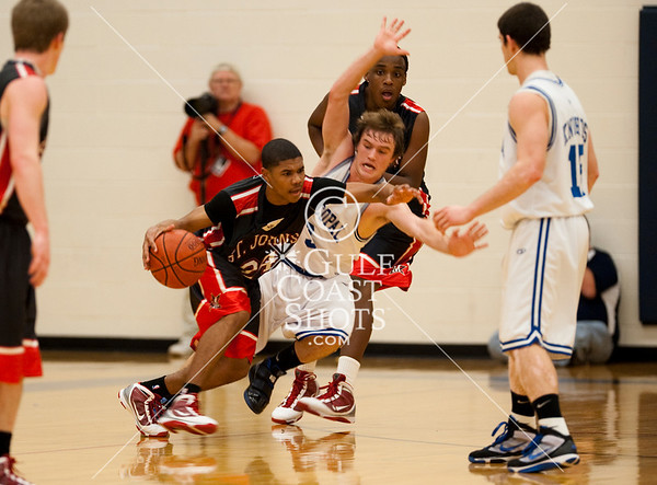 2010-01-22 Basketball Varsity Boys SJS @ Episcopal