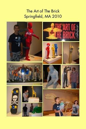 MA, Springfield - The Art of the Brick
