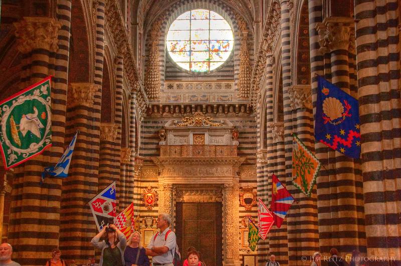 Cathedral in Sienna, Italy