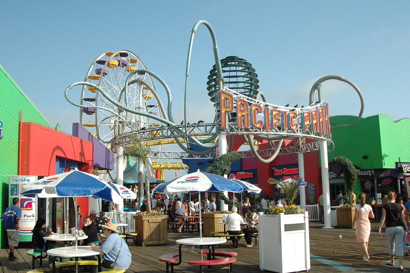 Park on Santa Monica pier