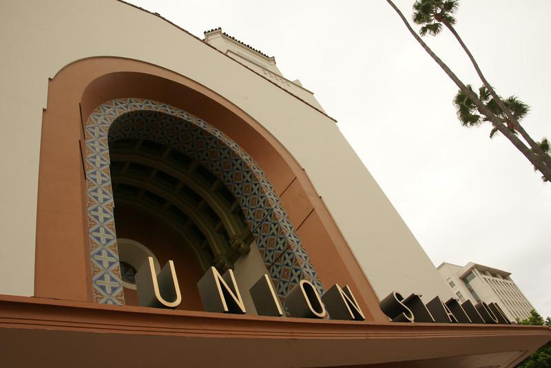 Union Train Station Los Angeles CA