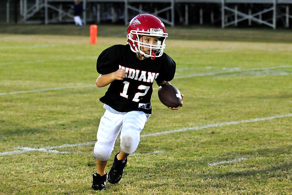 Little Football Players in Action Oct. 13, 2011