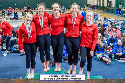 HS Sports - Gymnastics - Big 8 Conference - Feb 20, 2016