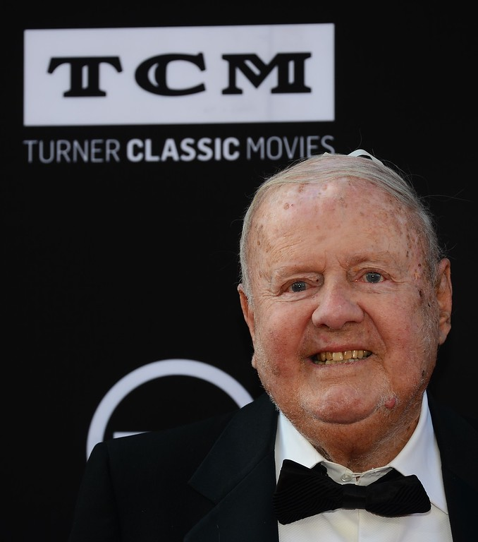 . Dick Van Patten poses on arrival for the American Film Institutes 41st Life Achievement Award Gala Tribute at the Dolby Theater in Hollywood, California, on June 6, 2013.        (FREDERIC J. BROWN/AFP/Getty Images)