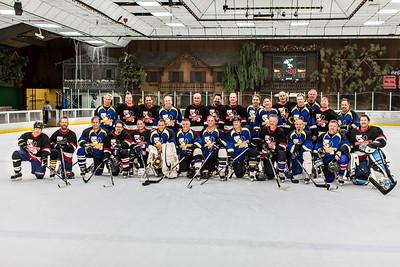 UN 45's & UN 50's - After Game Team Photo