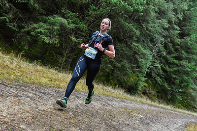 Winter Trail Marathon Wales - Runners at 11kM after 11:50