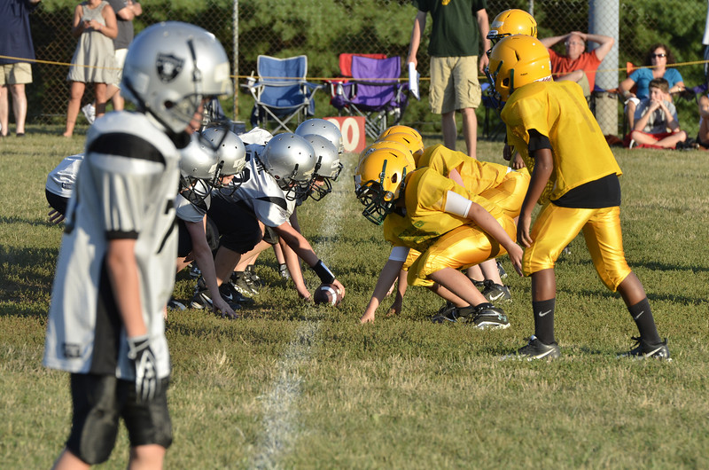 Wildcats vs Raiders Scrimmage 132.JPG