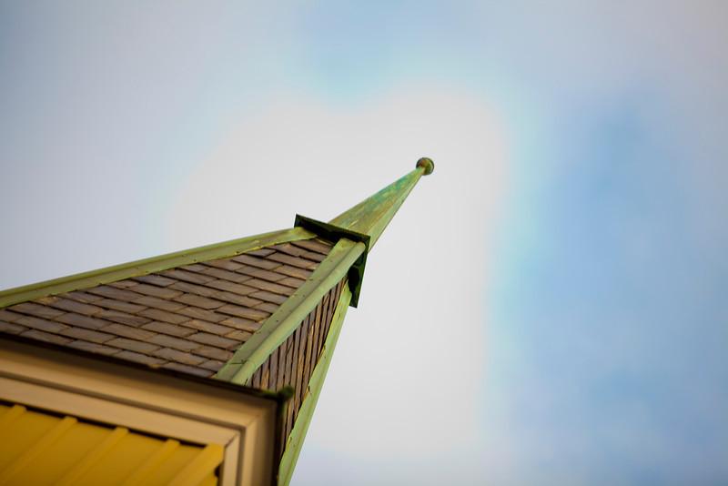 Winter Steeple - Wenonah Methodist Church