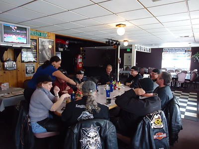Big Lake Bar and Grill Ride, Sunday March 6, 2011
