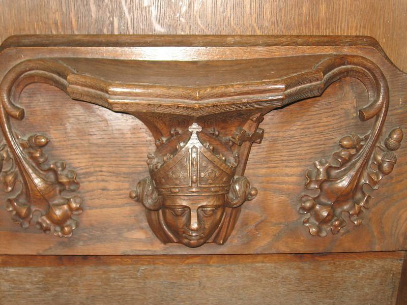 Miseriecord, Fitzalan Chapel, Arundel