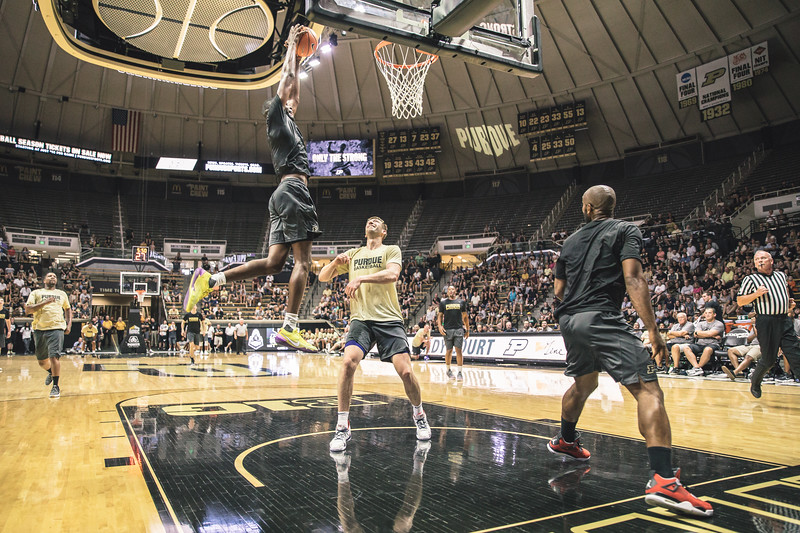 Purdue Alumni Game in Mackey Arena on August 4, 2018