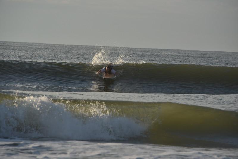 Surfing at Huntington Beach