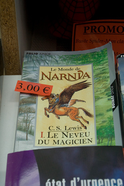 Namur. Book store. This was one of my favorite stories when I was a child.