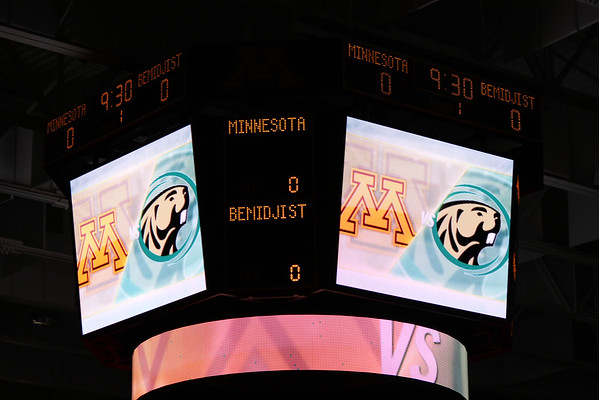 10-31-14 Team Trip to Gopher vs Bemidji Game!