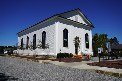 Kinsman Town Hall Restoration (before= and after=2020-09-20)