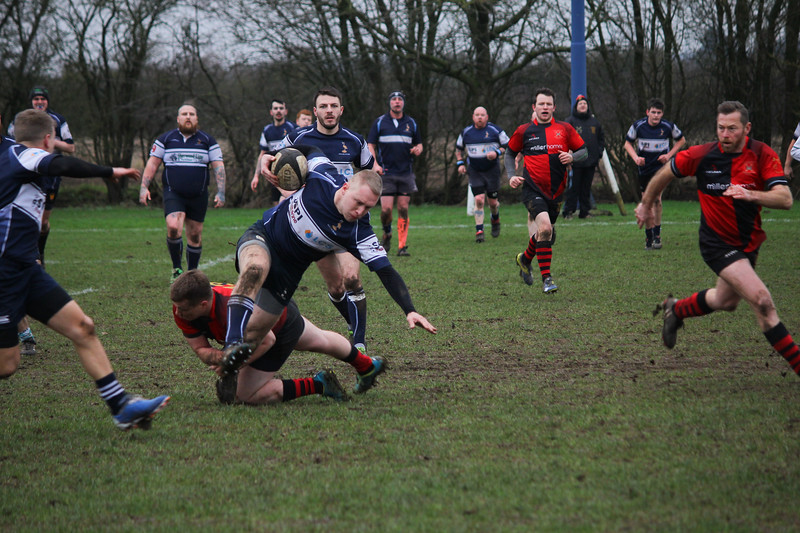 Owen Pegg surges for Newark 3rds 260120PN6-3