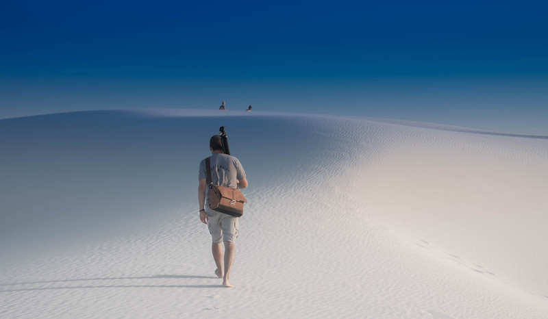 Into the White Sands