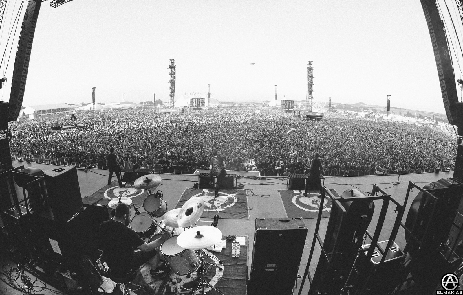 Rise Against live at Rock AM Ring