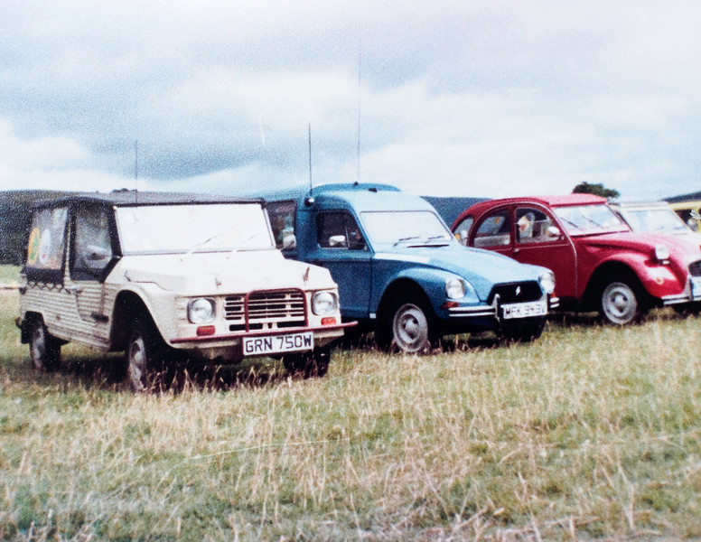 Citroën Mehari, Acadiane, 2CV