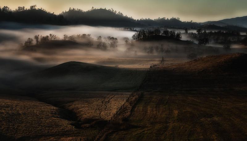 My valley morning fog