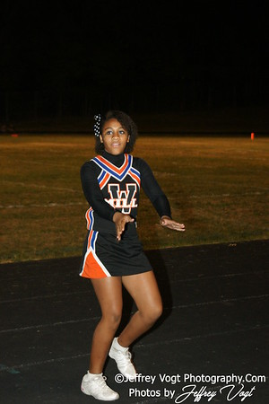09-10-2010 Watkins Mill HS Band, Varsity Cheerleading, Poms, Photos by Jeffrey Vogt Photography
