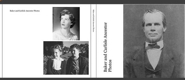 Carlisle and Baker Ancestor Photos book pageviews