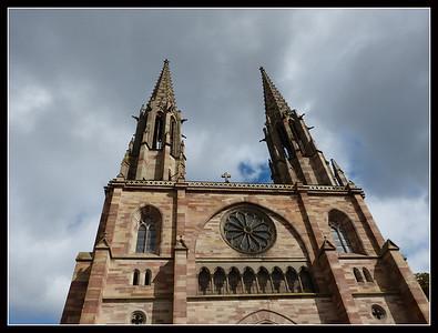 Obernai (Alsace):  Église Saints Pierre et Paul