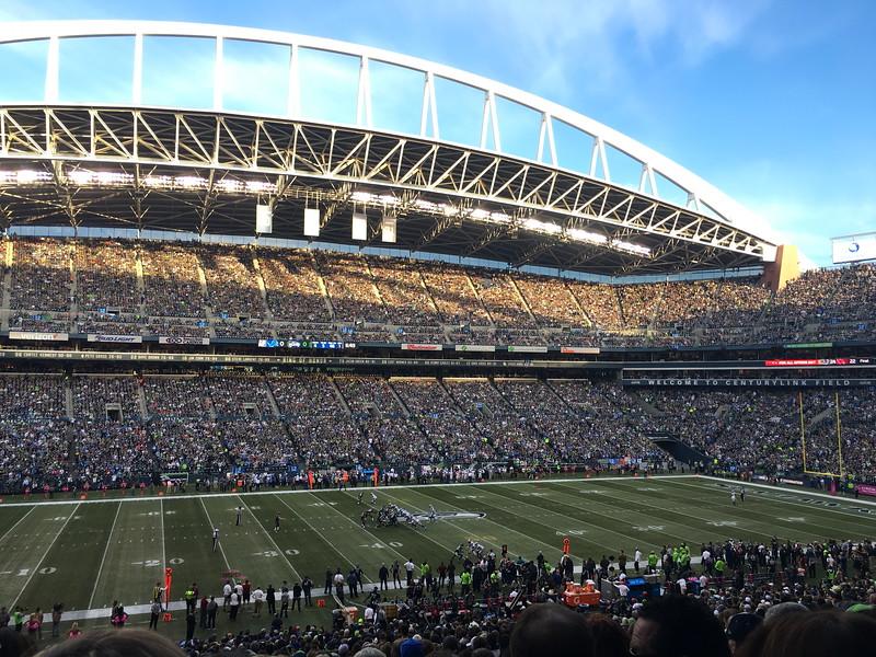 Seahawks vs. Lions