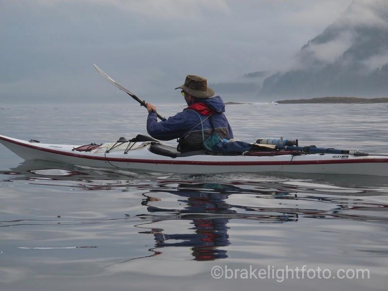 Heading north across Quatsino Sound