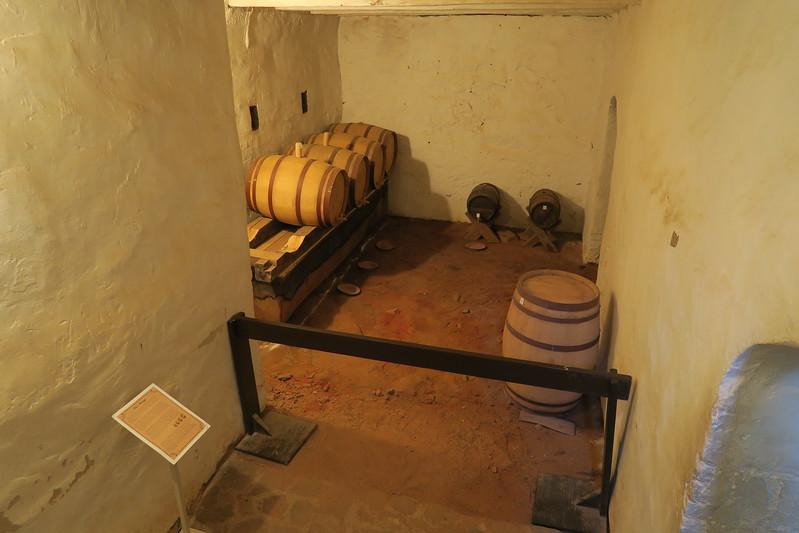 """Salem Tavern (ca. 1784) -- """"Bar Storage"""""""