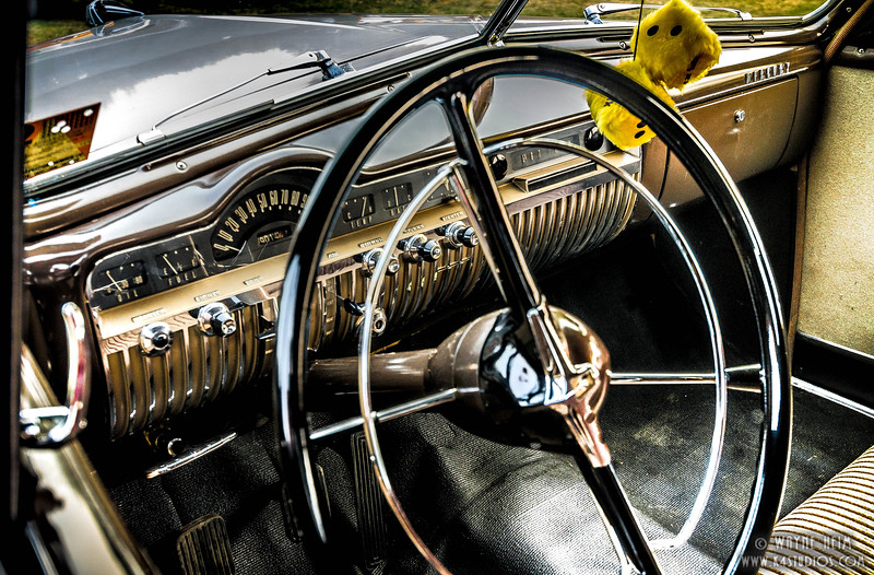 Fancy Driver's Seat    Photography by Wayne Heim