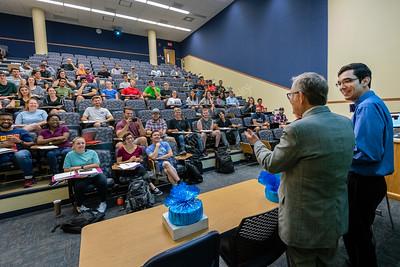 34892 President Gee Outstanding Teaching Award Classroom Surprise September 2018