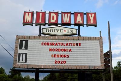 20200618 Nordonia Drive-in Graduation