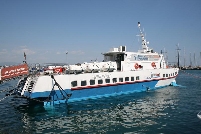 2011 - Hydrofoil NILO in Formia.