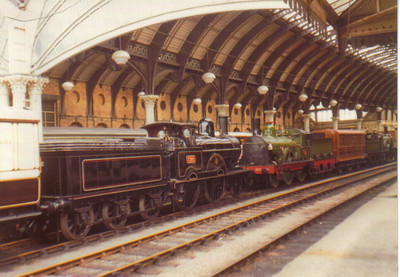 Webb Preserved locos