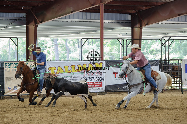 Priefert Team Roping Event