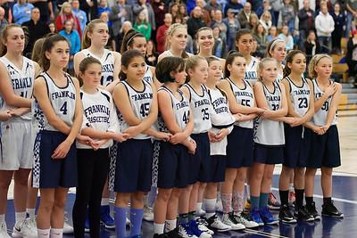 2017-12-08 - FHS Girls Basketball vs. Holy Name