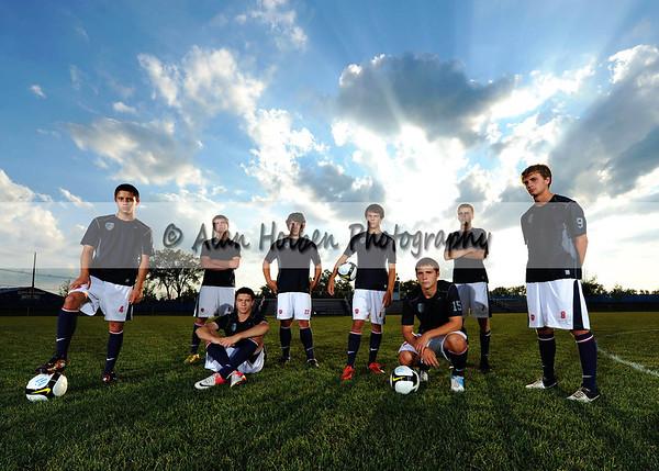 Varsity Soccer Mason seniors