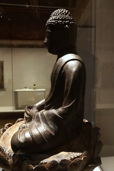 Seated Image of Amida Buddha