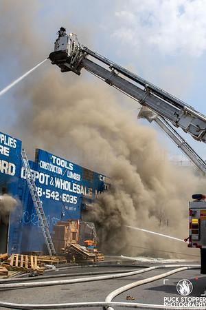 3 Alarm Commercial Building Fire - 551 E 179 St, Bronx, NY - 8/13/20